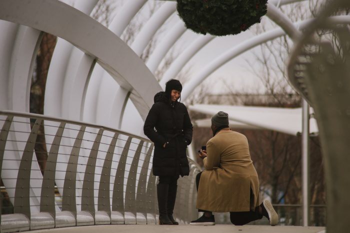 Where to Propose in Yards Park in Washington, D.C.