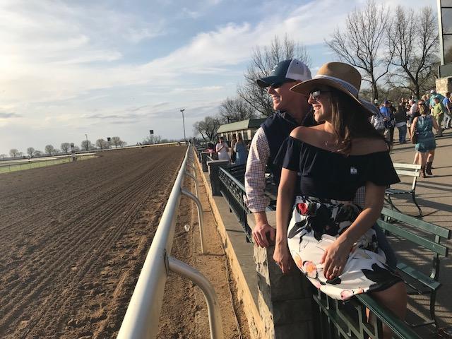 Marriage Proposal Ideas in Keeneland Race Track in Lexington Kentucky