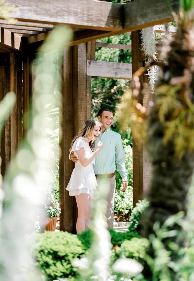 Engagement Proposal Ideas in Sarah P. Duke Gardens in Durham, North Carolina
