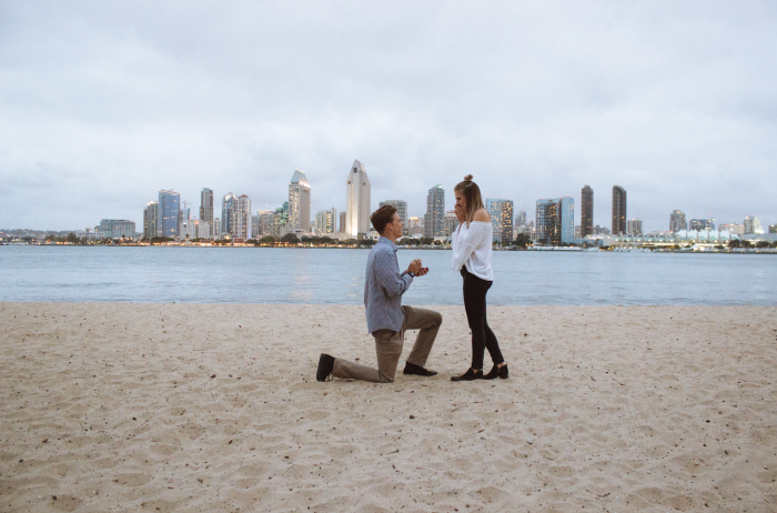 Marriage Proposal Ideas in Coronado, California