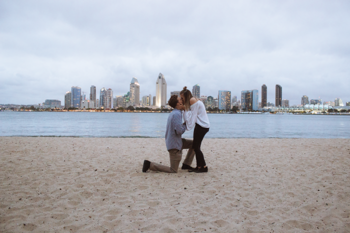Sarah and Drew's Engagement in Coronado, California
