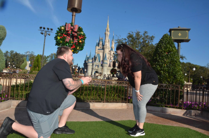 Gabrielle and Marc's Engagement in Disney World