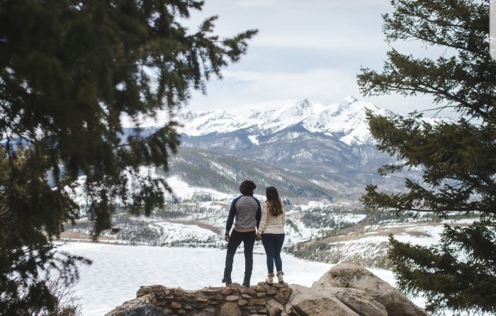 Michelle and Ronnie's Engagement in Breckenridge Colorado