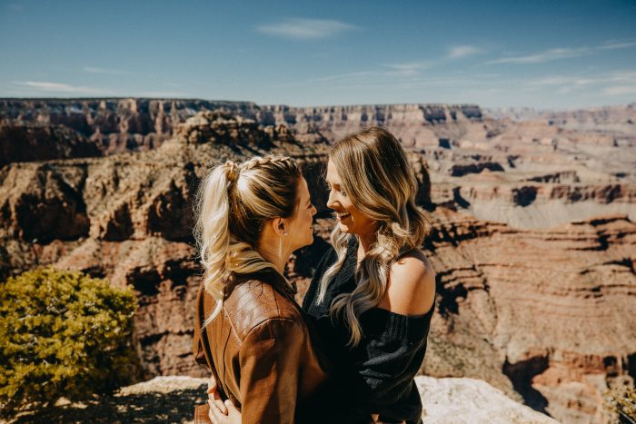Lauren and Taylor's Engagement in Grand Canyon National Park