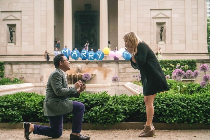 Where to Propose in Philadelphia at the Rodin Museum