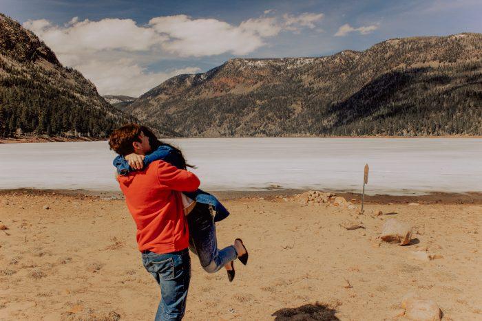 Tyson J's Proposal in Moon Lake Utah