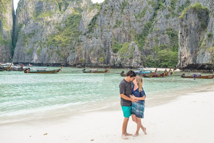 Haley and Tanner's Engagement in Maya Bay, Thailand