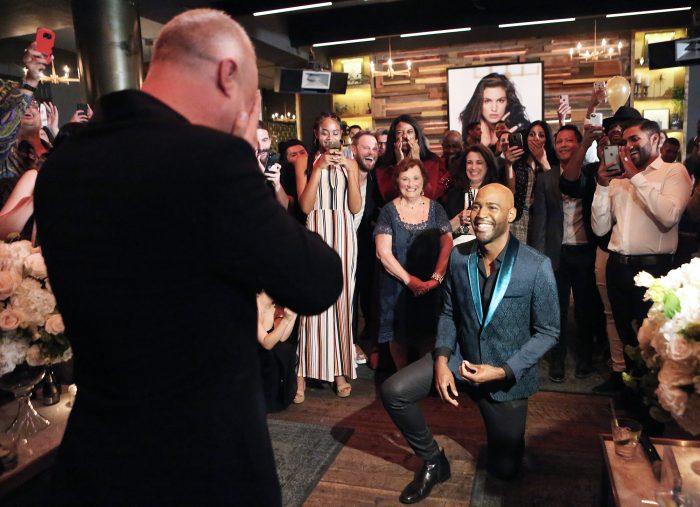 Image 1 of Queer Eye's Karamo Brown Is Engaged to Director Ian Jordan: Watch the Video
