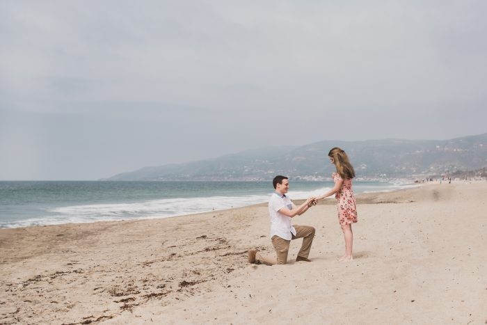 Kennedy and Andrew's Engagement in Malibu, CA