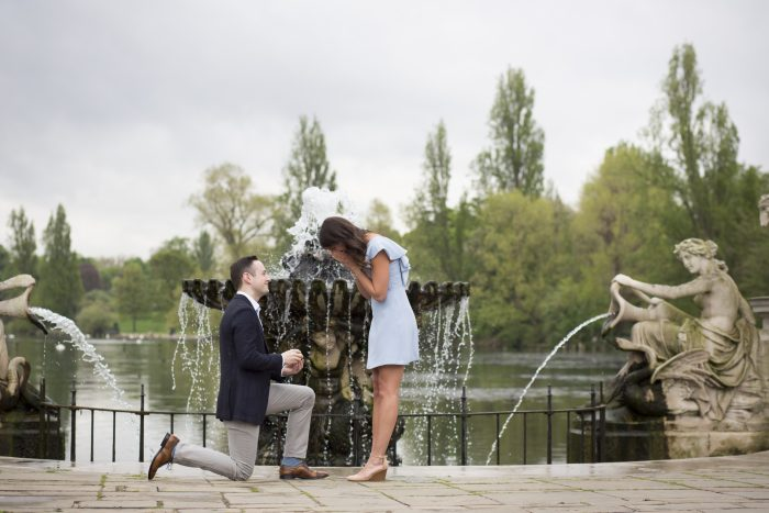 Christina's Proposal in London, England