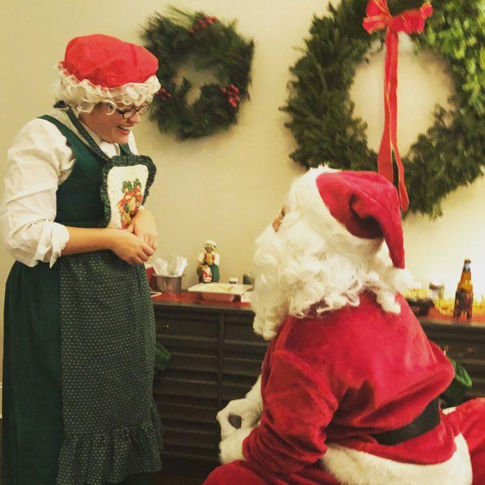Santa marriage proposal