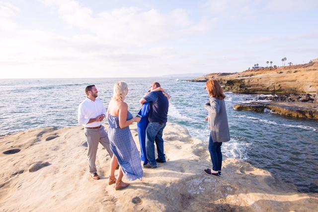 Nicki's Proposal in Sunset Cliffs, San Diego, CA