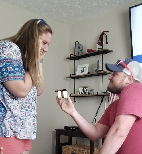Where to Propose in Our new home