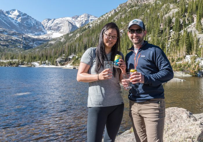 Proposal Ideas Mills Lake inside Rocky Mountain National Park Colorado