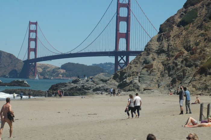 Kelsey's Proposal in Baker Beach, CA