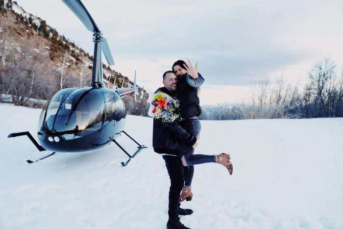 Wedding Proposal Ideas in On a mountain top in Provo, Utah