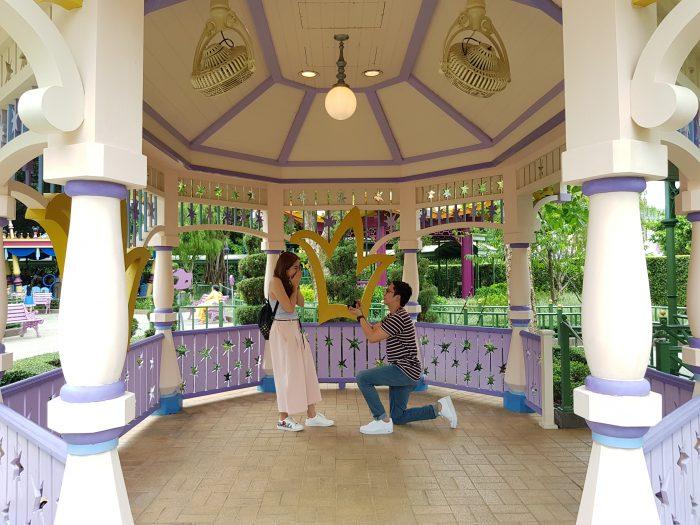 Engagement Proposal Ideas in Hongkong Disneyland