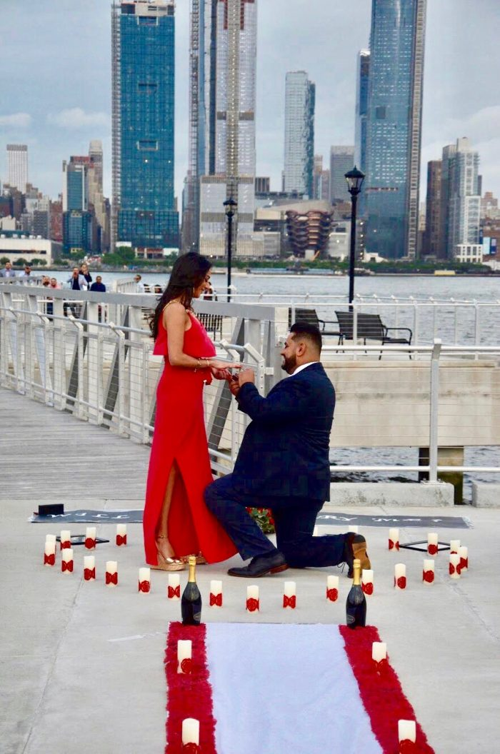 Where to Propose in Weehawken Pier