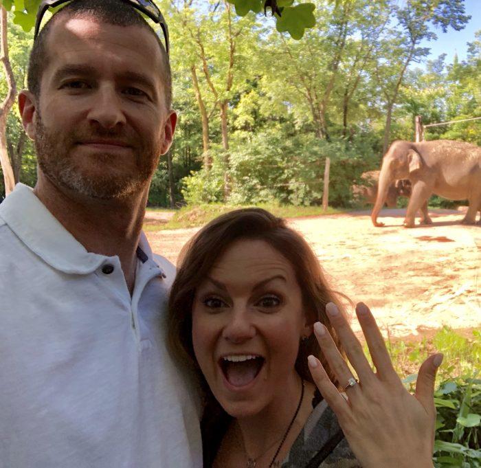Where to Propose in Cincinnati Zoo + Botanical Garden