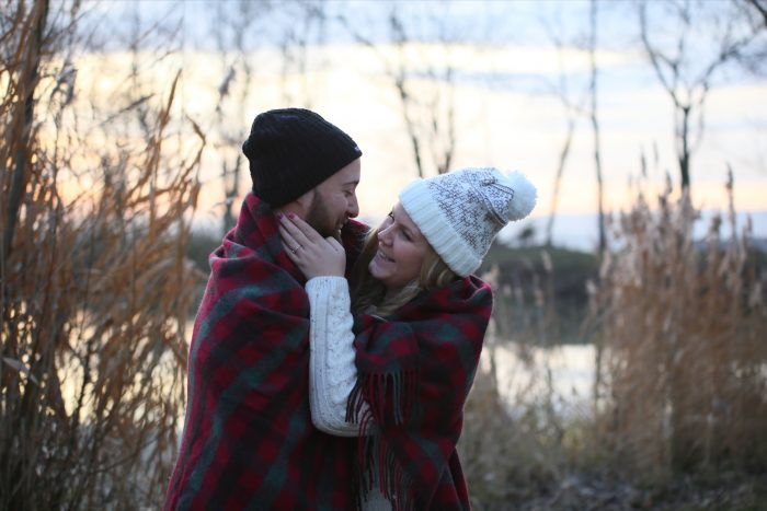 Morgane and Guillaume's Engagement in Sedona, Arizona