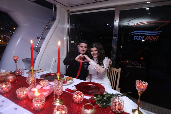 Marriage Proposal Ideas in On a yacht in Istanbul
