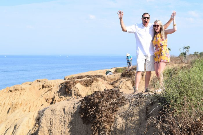 Engagement Proposal Ideas in Sunset cliffs San Diego California