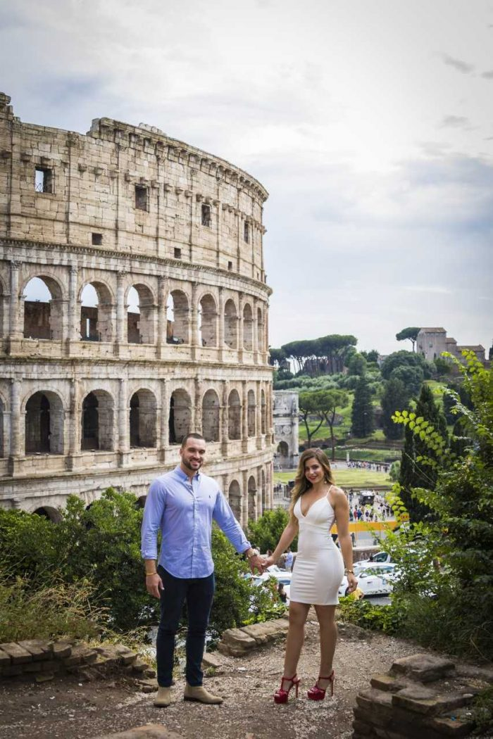 Geoffrey and Erica's Engagement in Rome, Italy