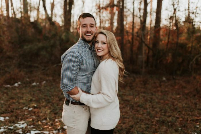 Jenna and Ridge's Engagement in Cloudland Canyon State Park, GA