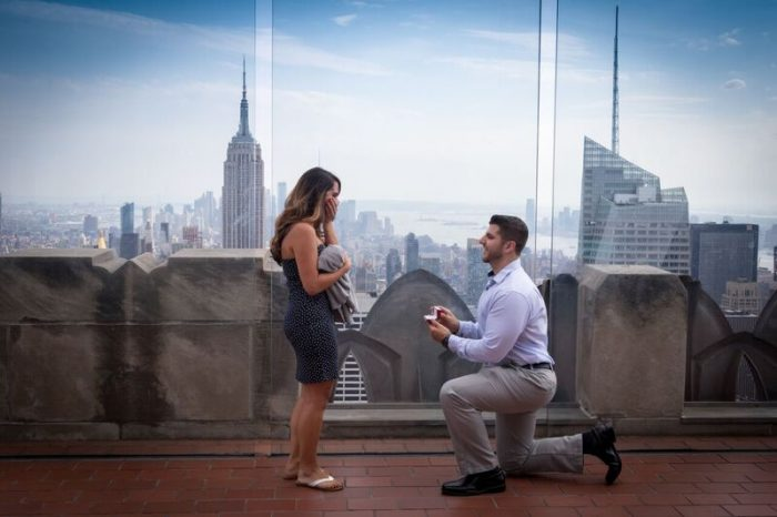 Where to Propose in New York City - Top of the Rock