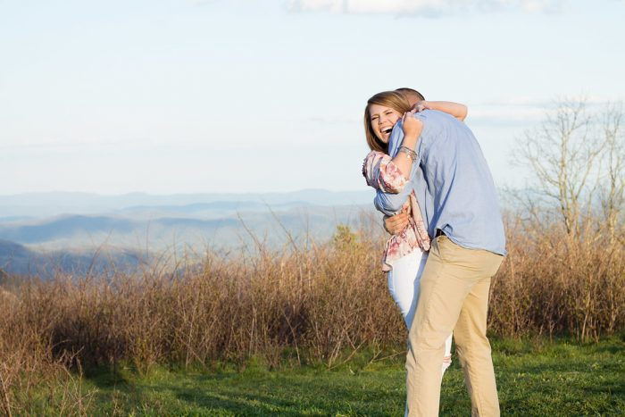 Bethany and Troy's Engagement in Blue Ridge Parkway