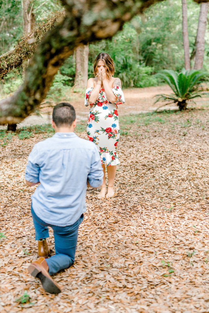 Katlyn's Proposal in Twelve Oaks, Ocean Springs MS