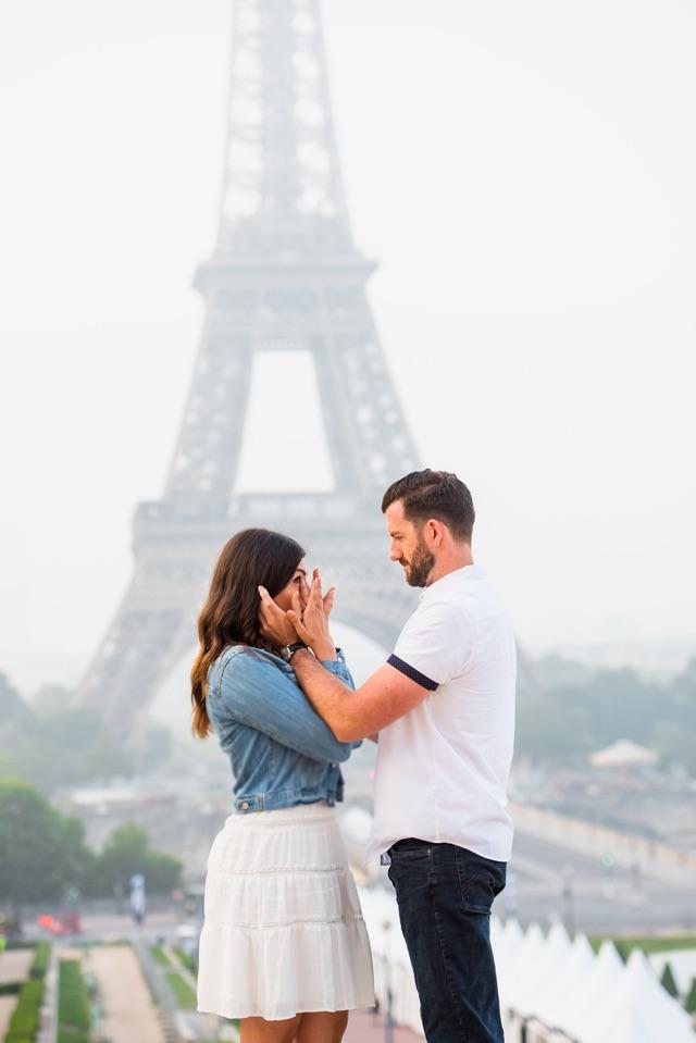 Marriage Proposal Ideas in Eiffle Tower, Paris