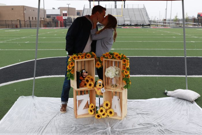 Where to Propose in Union High School in Tulsa, OK