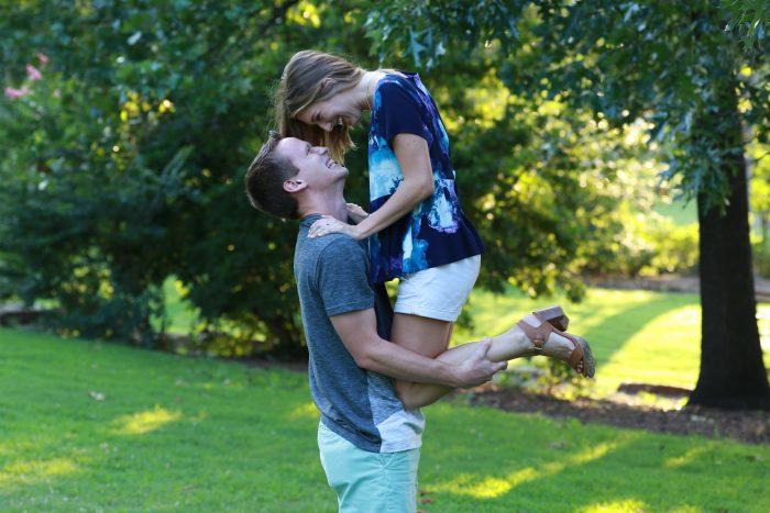 Alyssa's Proposal in Union High School in Tulsa, OK