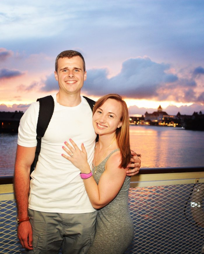 Sarah and Michael's Engagement in Disney World