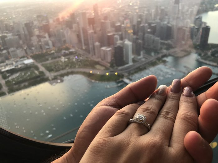 Where to Propose in London House Chicago Illinois