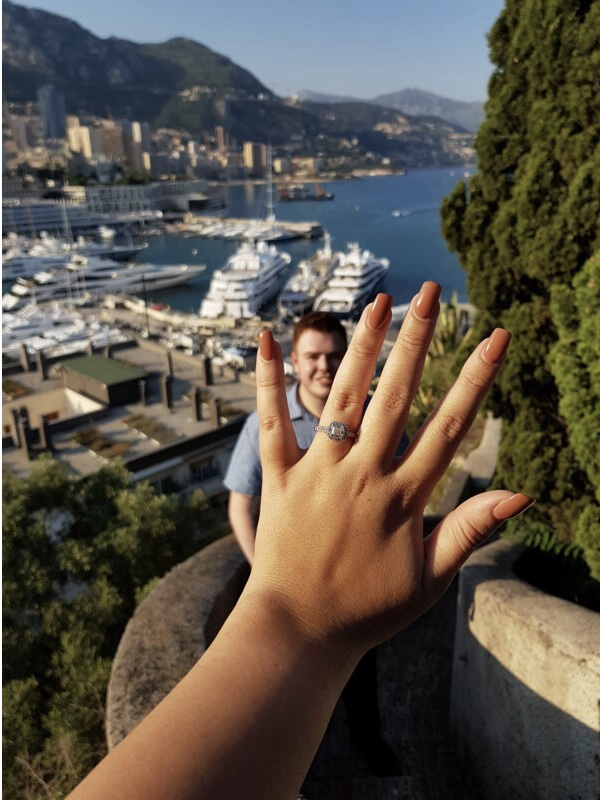 Chloe and Ryan's Engagement in Monaco, French Riveria