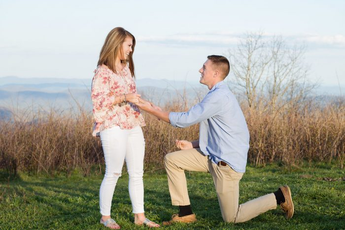 Where to Propose in Blue Ridge Parkway