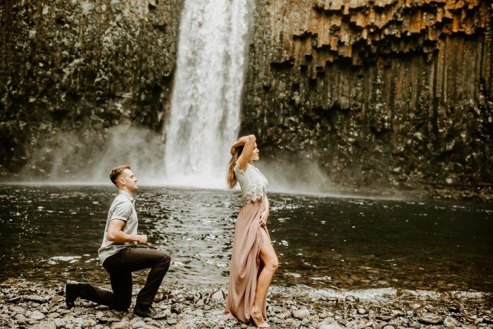 Wedding Proposal Ideas in Abiqua Falls