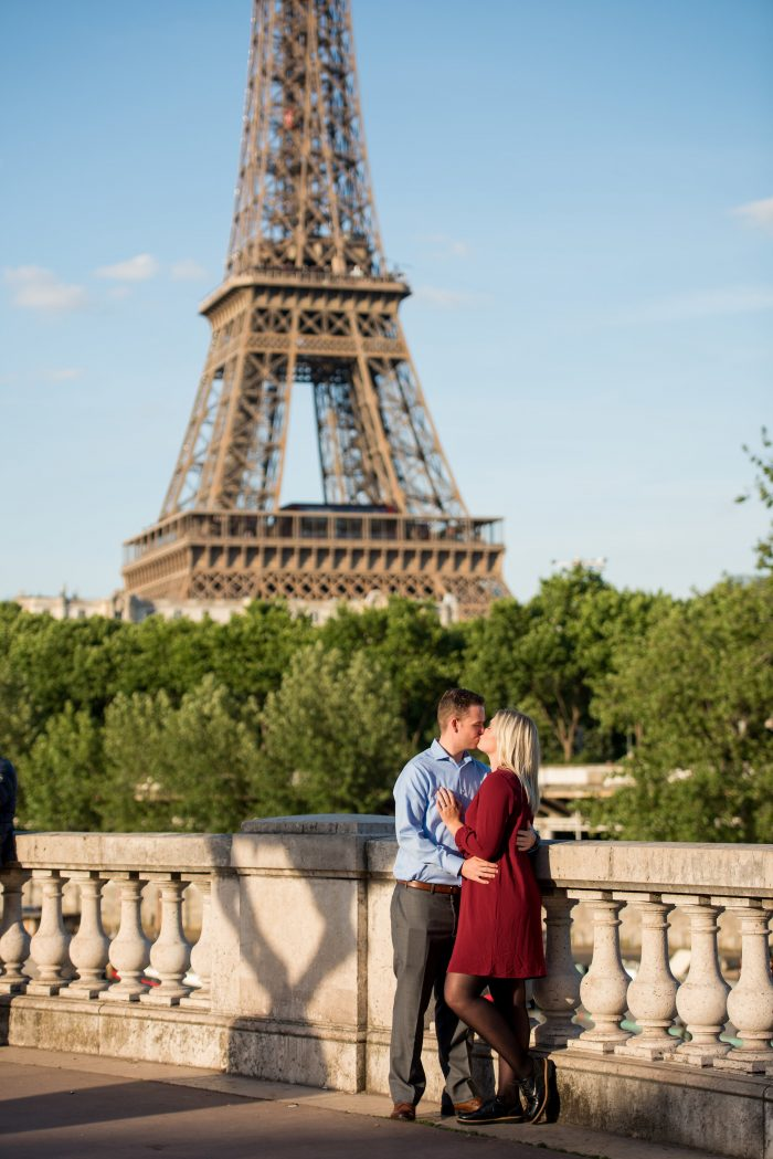 Brooke and Michael's Engagement in Paris, France
