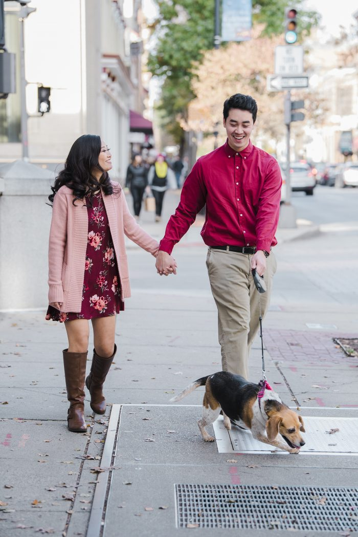 Jhoann and Anh's Engagement in Frederick, Maryland