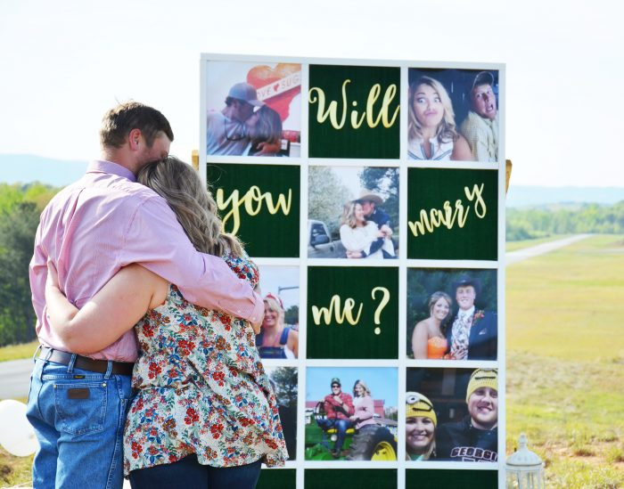 Engagement Proposal Ideas in Our favorite hill
