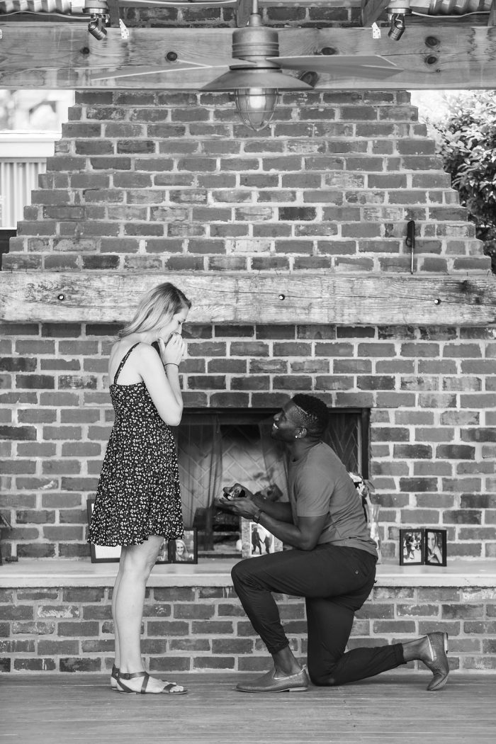 Wedding Proposal Ideas in Grace Midtown, Atlanta, GA