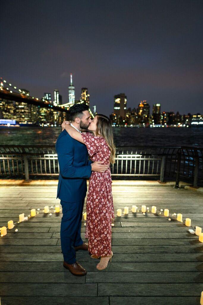 Marriage Proposal Ideas in Dumbo, Brooklyn