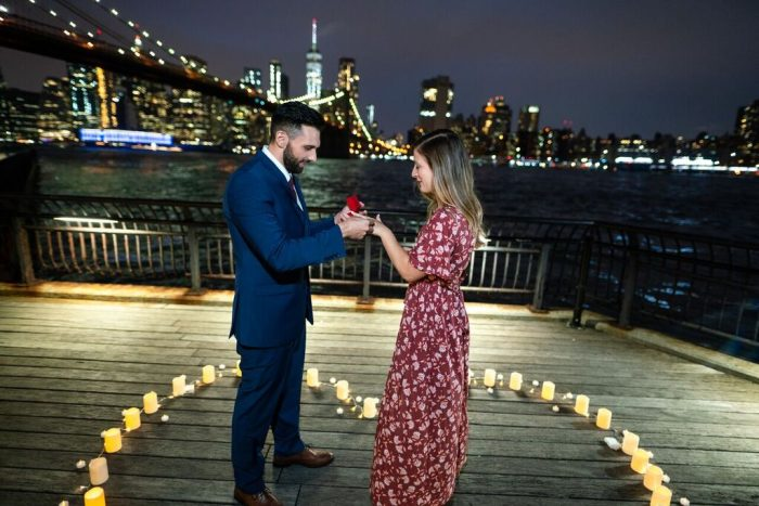 Victoria's Proposal in Dumbo, Brooklyn