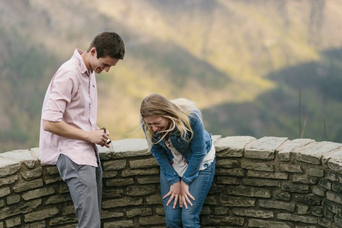 Engagement Proposal Ideas in Wisemans View Linville, NC
