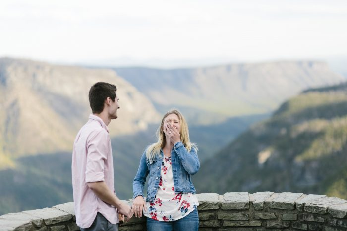 Where to Propose in Wisemans View Linville, NC