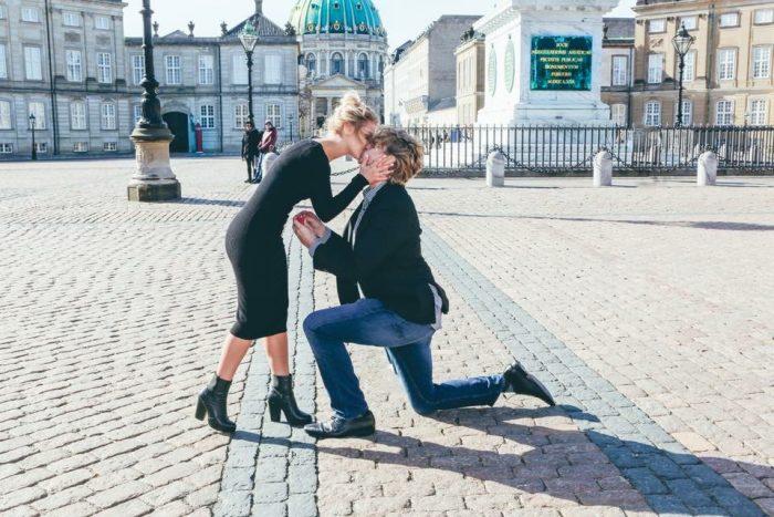 Janissa's Proposal in Amalienborg Palace- Copenhagen, Denmark