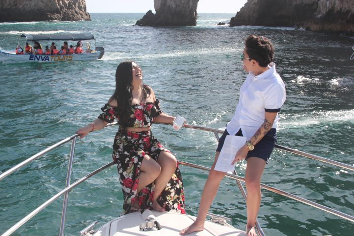 Josie's Proposal in Cabo San Lucas, Mexico