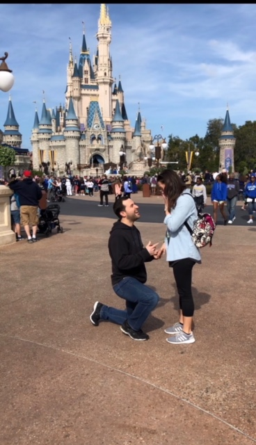 Marriage Proposal Ideas in Disney